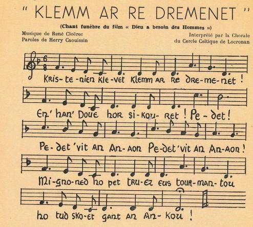 Les cantiques bretons